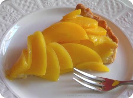 Peach tarte